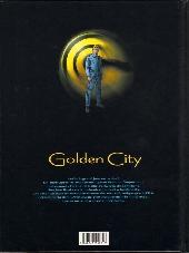 Verso de Golden City -5- Le Dossier Harrison