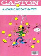 Verso de Gaston -13FL2- Lagaffe mérite des baffes