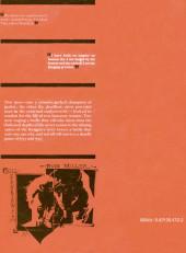 Verso de Marvel Graphic Novel (Marvel comics - 1982) -24- Daredevil: Love and War