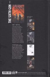 Verso de The sixth Gun -7- Boot Hill