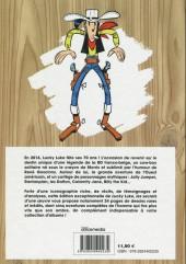 Verso de Lucky Luke -HS07- Les secrets d'une œuvre