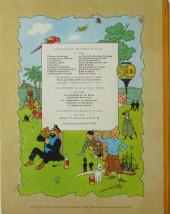 Verso de Tintin (Historique) -19B33- Coke en stock