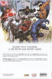 Verso de Avengers - Time Runs Out -4- La Chute des Dieux