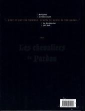 Verso de Complainte des Landes perdues -INT02- Les Chevaliers du Pardon