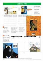 Verso de (Catalogues) Éditeurs, agences, festivals, fabricants de para-BD... - Casterman - 1989 - 90 - Catalogue