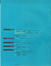 Verso de (Catalogues) Éditeurs, agences, festivals, fabricants de para-BD... - Catalogue - 1990 Les Humanoïdes Associés
