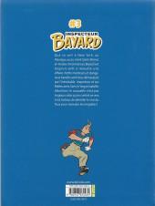 Verso de Les enquêtes de l'inspecteur Bayard -INT3- Tome 3