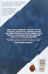 Verso de Atomic Robo (2007) - The Savage Sword of Dr. Dinosaur