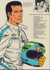 Verso de Michel Vaillant -2c72- Le pilote sans visage