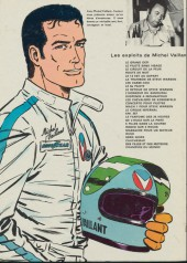 Verso de Michel Vaillant -3d1974'- Le circuit de la peur