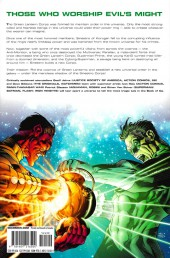 Verso de Green Lantern: The Sinestro Corps War (2008) -INT01- The Sinestro Corps War - volume one