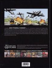 Verso de Ils ont fait l'Histoire -18- Kennedy