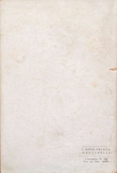 Verso de Valhardi -HS- L'étrange réveillon de Jean Valhardi