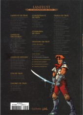 Verso de Lanfeust et les mondes de Troy - La collection (Hachette) -41- Nuit Safran - La Vengeance d'Albumen