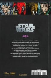 Verso de Star Wars - Légendes - La Collection (Hachette) -287- La Légende des Jedi - IV. Les Seigneurs des Sith