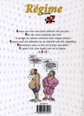 Verso de Illustré (Le Petit) (La Sirène / Soleil Productions / Elcy) - Le Régime illustré de A à Z