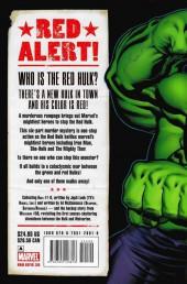 Verso de Hulk Vol.2 (Marvel comics - 2008) -INT01- Red Hulk