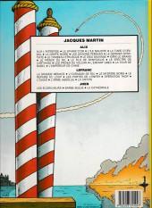 Verso de Lefranc -2c1985- L'ouragan de feu