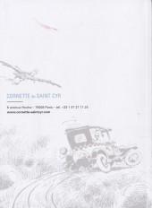 Verso de (Catalogues) Ventes aux enchères - Cornette de Saint Cyr - Cornette de Saint Cyr - Bandes Dessinées & Illustrations - Mardi 8 novembre 2016