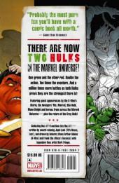 Verso de Hulk Vol.2 (Marvel comics - 2008) -INT02a- Red & Green