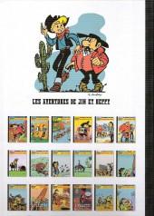 Verso de Jim L'astucieux (Les aventures de) - Jim Aydumien -15- La chevauchée des vaches qui rient