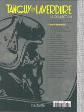 Verso de Tanguy et Laverdure - La Collection (Hachette) -3- Danger dans le ciel