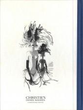Verso de (Catalogues) Ventes aux enchères - Christie's - Christie's - Bande Dessinée et Illustration - 19 novembre 2016 - Paris