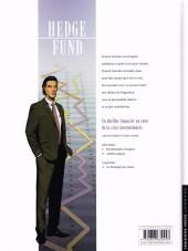 Verso de Hedge Fund -1a- Des Hommes d'argent