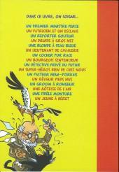 Verso de Psychanalyse du... -10- La psychanalyse du héros de francobelgie