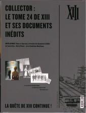 Verso de XIII -24ES- l'héritage de Jason Mac Lane