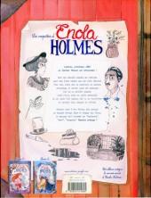 Verso de Les enquêtes d'Enola Holmes -3- Le mystère des pavots blancs