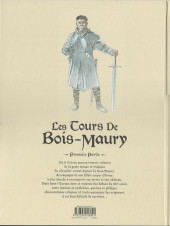 Verso de Les tours de Bois-Maury -INT1- Intégrale Première Partie