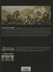 Verso de Ils ont fait l'Histoire -3FL- Charlemagne