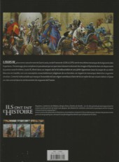 Verso de Ils ont fait l'Histoire -8FL- Saint Louis