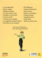 Verso de Marion Duval -11a07- Traque à Montmartre