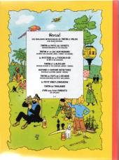 Verso de Tintin - Pastiches, parodies & pirates -25d- Tintin et le mystère de la toison d'or