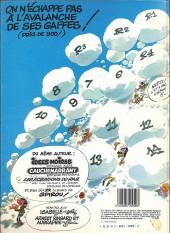 Verso de Gaston -7a1984- Un gaffeur sachant gaffer