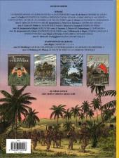 Verso de Lefranc (Les voyages de/Les reportages de) -8- La guerre du pacifique