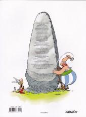 Verso de Astérix (en langues étrangères) -17SLOV- DOMOVANJE BOGOV