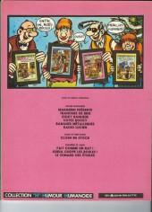 Verso de Frank Margerin présente -2b1982'- Tranches de brie