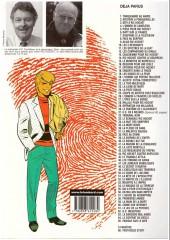 Verso de Ric Hochet -50b- Le crime de l'an 2000