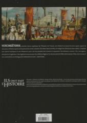Verso de Ils ont fait l'Histoire -2FL- Vercingétorix