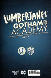 Verso de Lumberjanes/Gotham Academy (2016) -6- Lumberjanes/Gotham Academy Part 6 of 6
