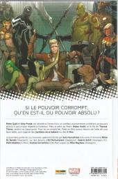Verso de Les gardiens de la Galaxie / All-New X-Men (Marvel Now!) -1- Le Vortex Noir (I)