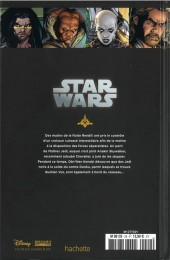 Verso de Star Wars - Légendes - La Collection (Hachette) -2932- Clone Wars - VII. Les Cuirassés de Rendili
