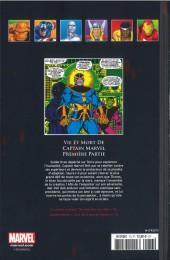 Verso de Marvel Comics - La collection (Hachette) -73XXII- Vie et Mort de Captain Marvel - Première Partie