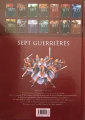 Verso de Sept -5a- Sept guerrières