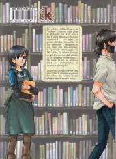 Verso de Le maître des livres (Toshokan no Aruji)  -10- Tome 10
