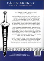 Verso de L'Âge de bronze -2a2016- Sacrifice