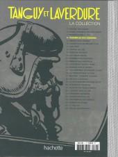 Verso de Tanguy et Laverdure - La Collection (Hachette) -4- Escadrille des cigognes
